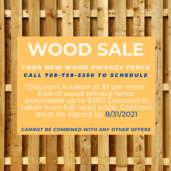 Wood sale ad