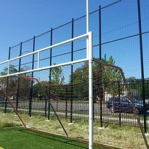 Tall fencing options for sports field for Northwest Indiana fencing company