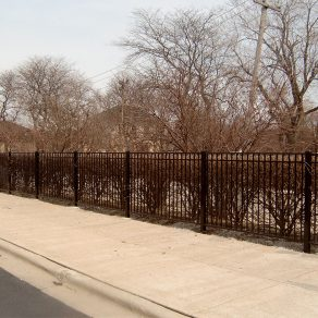metal fencing concept for property in Lemont contact Fence Contractor in Lockport