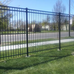 aluminum fencing concept for fence installation in NWI