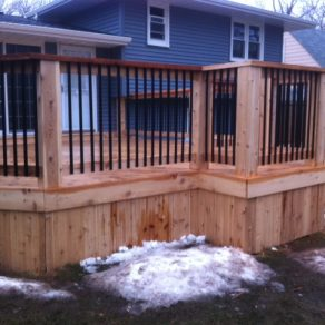 looking for deck installation in northwest indiana area with fence and deck contractors
