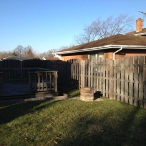 fence and deck needing repairs from Homewood Fence Repair company