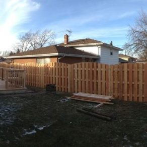 quality wooden fence image if checking for rated fence companies in Frankfort