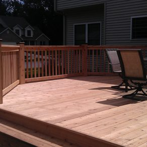 deck construction concept when looking for experienced deck and fence companies in Mokena