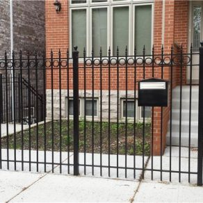 custom wrought iron fence improves curb appeal, contact fence installation in Lemont