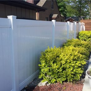 white pvc fence for valuable help contact Dyer fence contractor