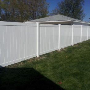 pretty white fence picture for your family's home, seek out experienced Fence Contractors in Merrillville