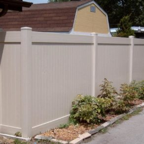 Private vinyl fencing, if looking for affordable fence installers Schererville.