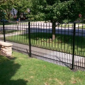 Wrought iron fencing, custom built, if looking for affordable fence builders Orland Park.