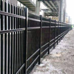 Security fencing along business for the best Beecher fencing to protect your property, call our Fence installers.